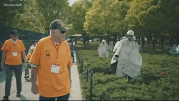 Veterans head to D.C. on Arizona Honor Flight to see their memorials