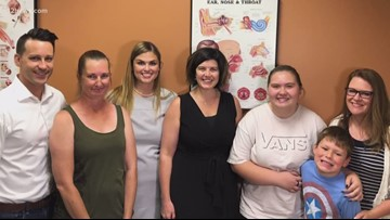 Miracle Makers: Mom, daughter get an amazing surprise during audiology appointment