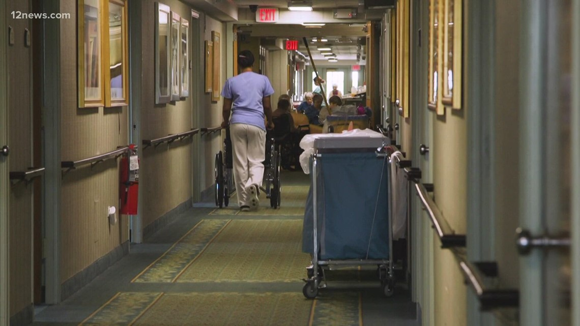 Dozens of Arizona nursing homes received millions in COVID bonuses after being cited by the state