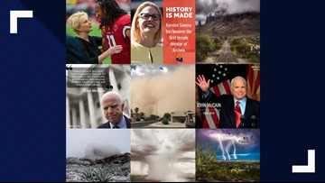 Our best Arizona photos of 2018: Larry Fitzgerald, McCain, extreme weather