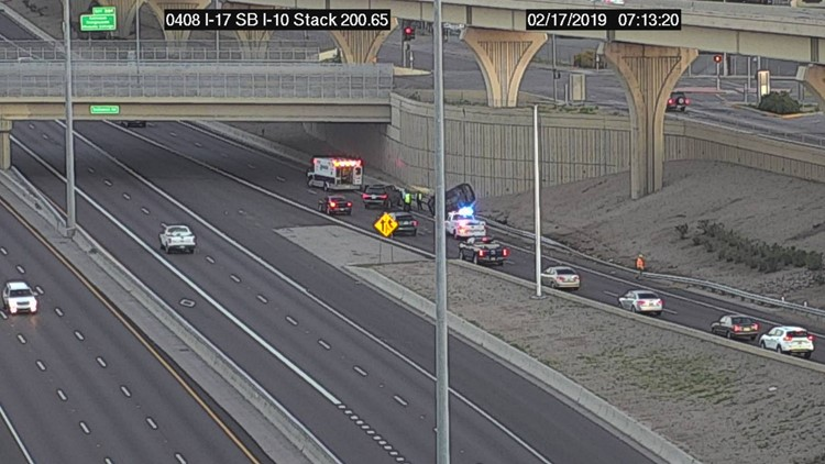 Driver facing murder charges after passenger dies in rollover at I-17, I-10 stack: Officials