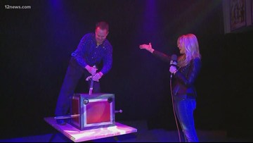 Everywhere A to Z: Magical moments with Davis Circus of Illusion