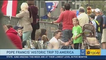Arizona family surprised with tickets to see the Pope
