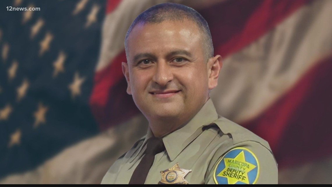 Family and friends celebrate the life of fallen Maricopa County deputy