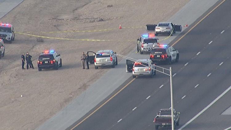 Driver hurt in shooting on Loop 303