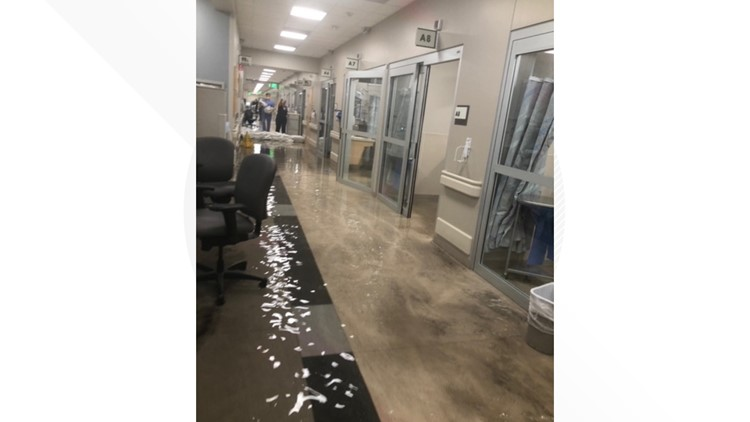 Flooding closes emergency department at Phoenix hospital