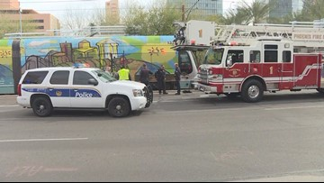Man hit by light rail train in downtown Phoenix, FD says