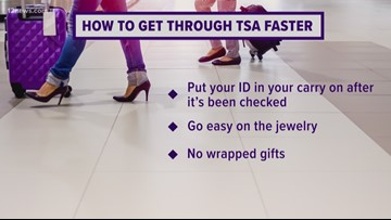 How to get through TSA security lines quickly