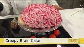 Creepy Brain Cake