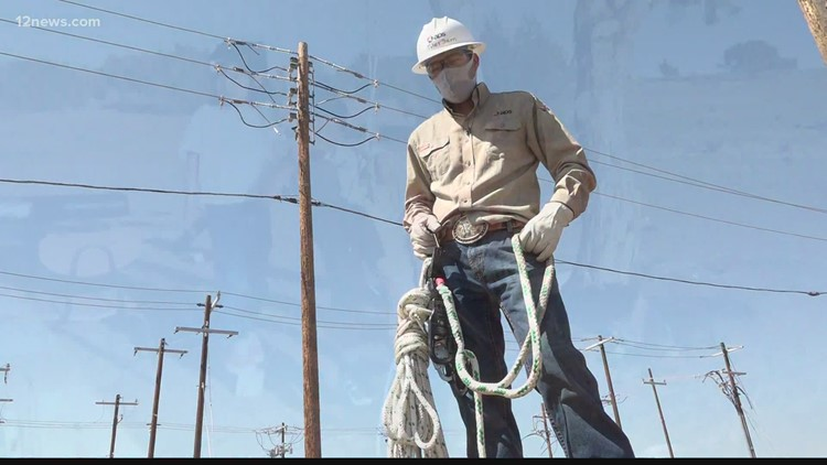 Inspiring Arizona: Scholarship creates opportunity for those interested in high-paying lineworker careers in Arizona
