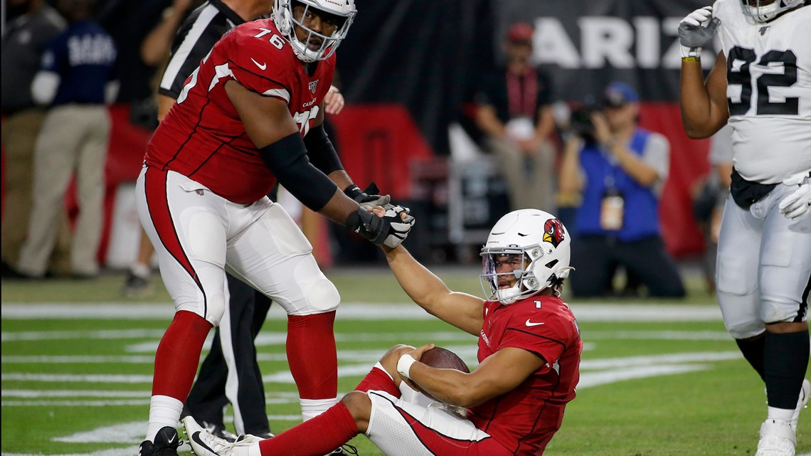 Kyler Murray, first team offense flattened, Cardinals lose to Raiders 33-26