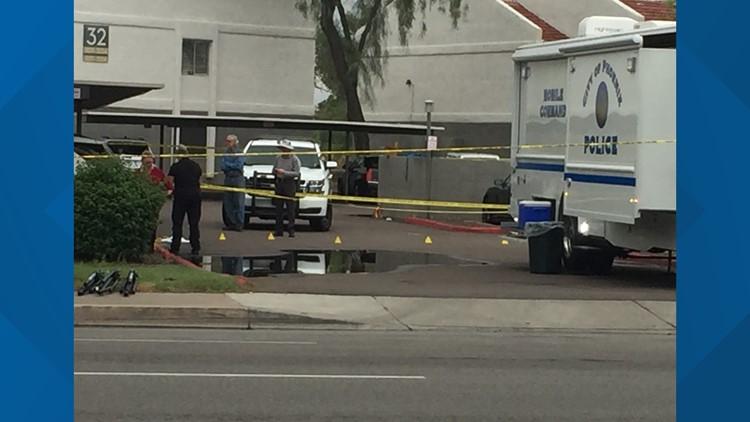 Police investigating 2 men dead in west Phoenix shooting