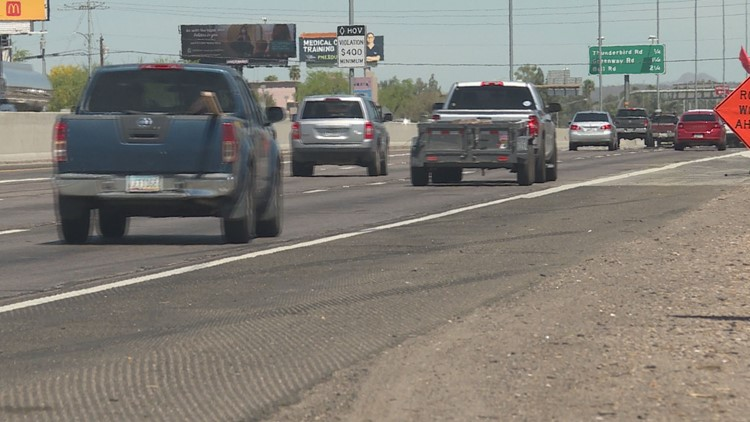 ADOT: I-17 in north Phoenix will get resurfaced sometime this year