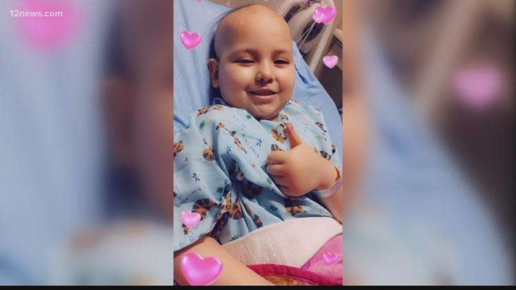 'Mali merece ir a Disneyland': Una comunidad está trabajando para llevar a una niña de 8 años que lucha contra el cáncer al parque de diversiones