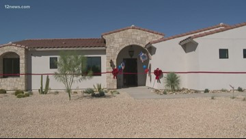 Valley veteran and family get new, custom home