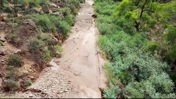 Landslides and fires close SR 88 from Tortilla Flat to SR 188