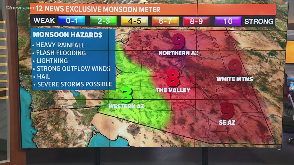 Monsoon season update July 24
