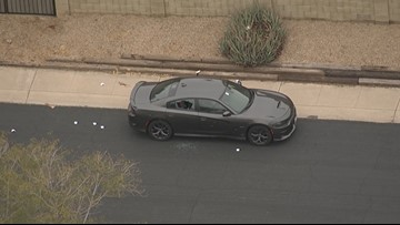 Police identify man found dead inside 'shot up' car in north Phoenix