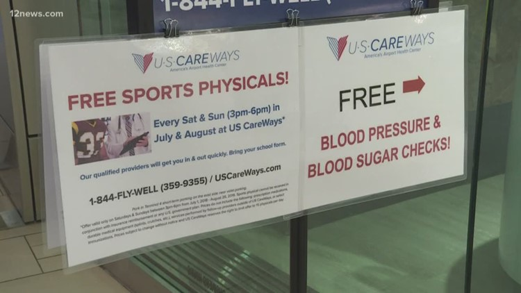 Student Athletes Can Get Free Sports Physicals At Sky Harbor