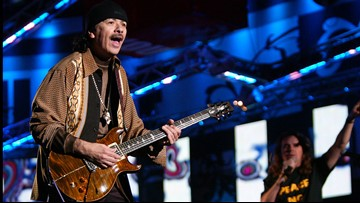Santana inicia gira de 20 aniversario de 'Supernatural' en Phoenix