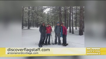 Winter getaway at Arizona Nordic Village