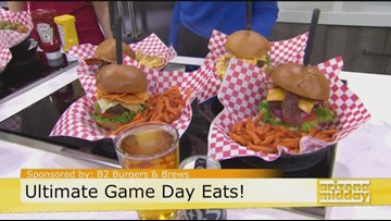 B2 Burgers and Brews for Game Day!