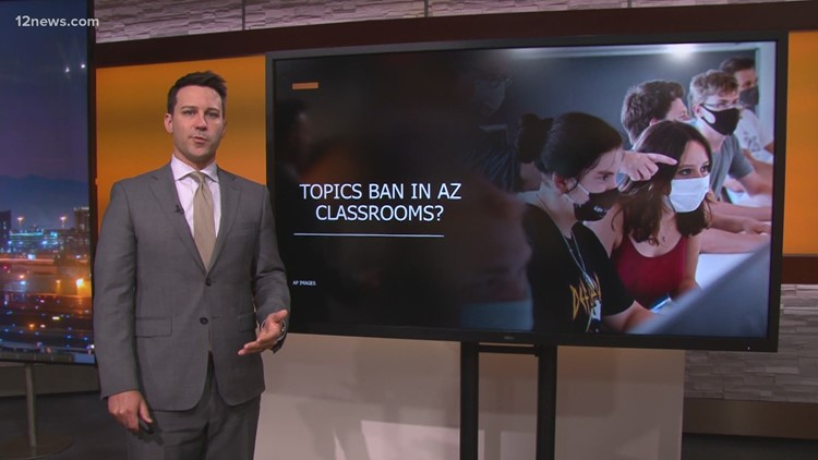 Controversial topics being banned in Arizona classrooms?