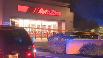 Police: 17-year-old in custody after he was shot during armed robbery at AutoZone