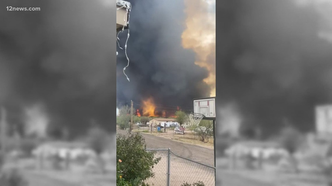 Margo Fire burning in Southeast Arizona 20% contained, 12 structures destroyed