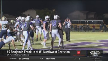 Northwest Christian wins big against Benjamin Franklin 35-7