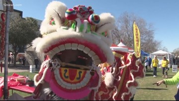 12 News' Tram Mai helps kick off Chinese Year of the Pig Festival