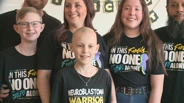 10-year-old Valley boy celebrates beating cancer