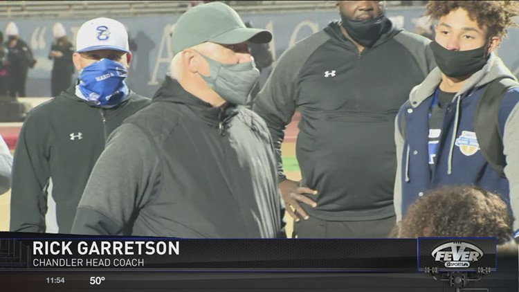 Friday Night Fever Coach of the Year: Rick Garretson, Chandler