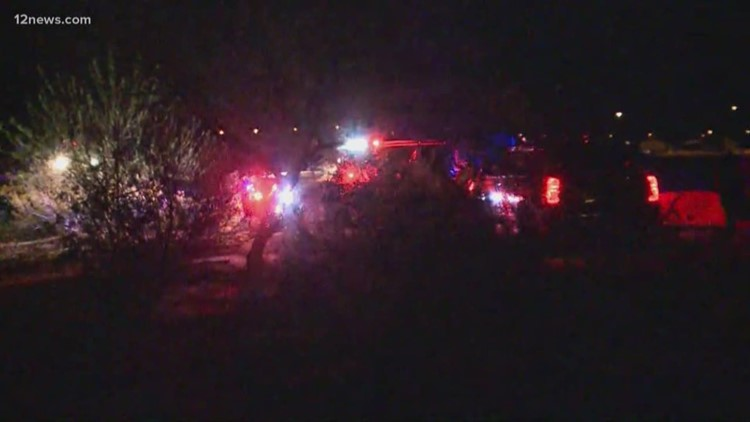 In a struggle for a pistol, man an at Buckeye event shot, killed, MCSO says