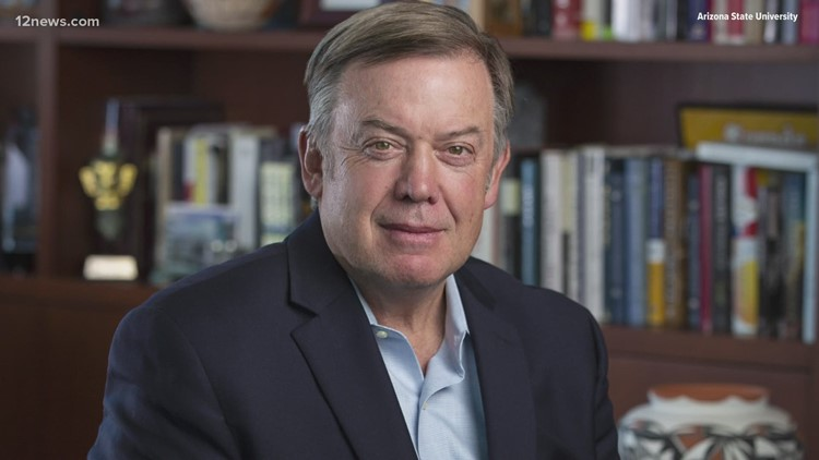 "ASU President Michael Crow: ""Our report is not a public health report. Our report is a report on the status of operation of the University."""