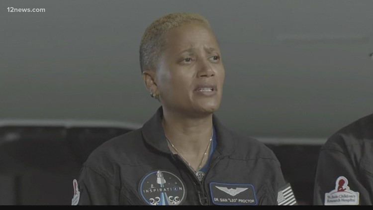 Valley professor makes history as SpaceX launches flight with all-amateur crew