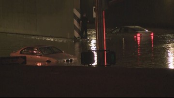 Drainage project to alleviate storm flooding along I-17