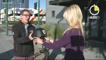 AtoZ60: Learn e-scooter etiquette with Krystle Henderson