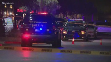 No officers injured in shooting involving Goodyear police in Queen Creek