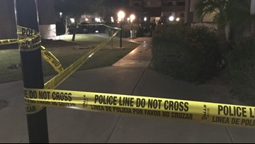 2-year-old taken to hospital after being found in pond at Mesa apartment complex