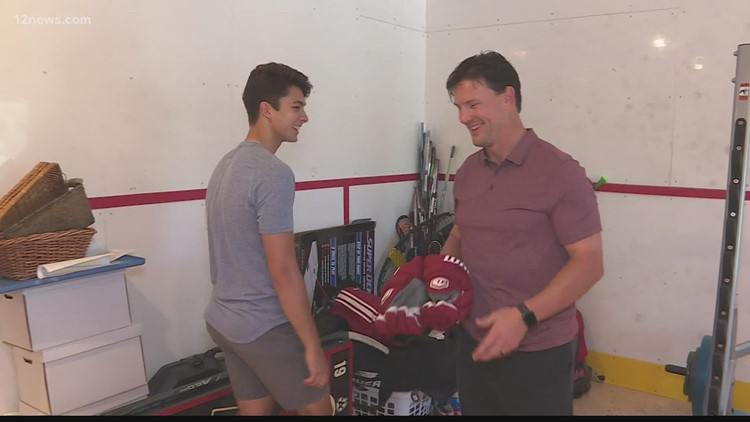 Coyotes first-round pick Dylan Guennther is Shane Doan's new roommate