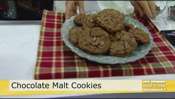 Chocolate Malt Cookies