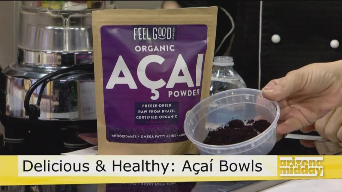 Delicious Acai Bowls with Chef Lisa's Recipe