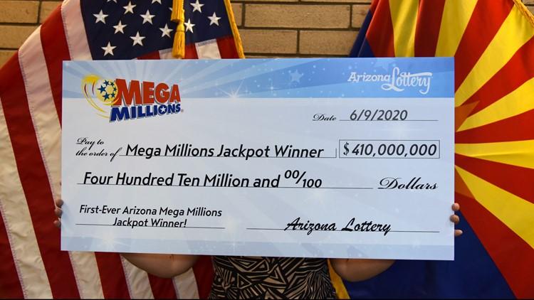 'I just knew I'd be lucky:' Glendale couple claims $410 million Mega Millions jackpot