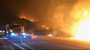 Woodbury Fire now burning over 112,000 acres, 48% contained