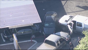 Pursuit across Valley streets ends with an officer-involved shooting