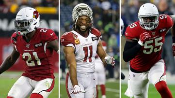 Larry Fitzgerald, Patrick Peterson y Chandler Jones nombrados para el equipo de la década en la NFL