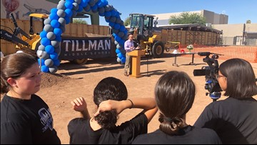 Middle school named in honor of Pat Tillman to be rebuilt