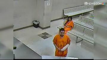 Man accused of stabbing woman to death along Loop 101 held on $1M cash bond