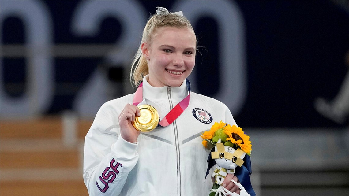Olympic gold medalist and Phoenix native Jade Carey returns from Tokyo